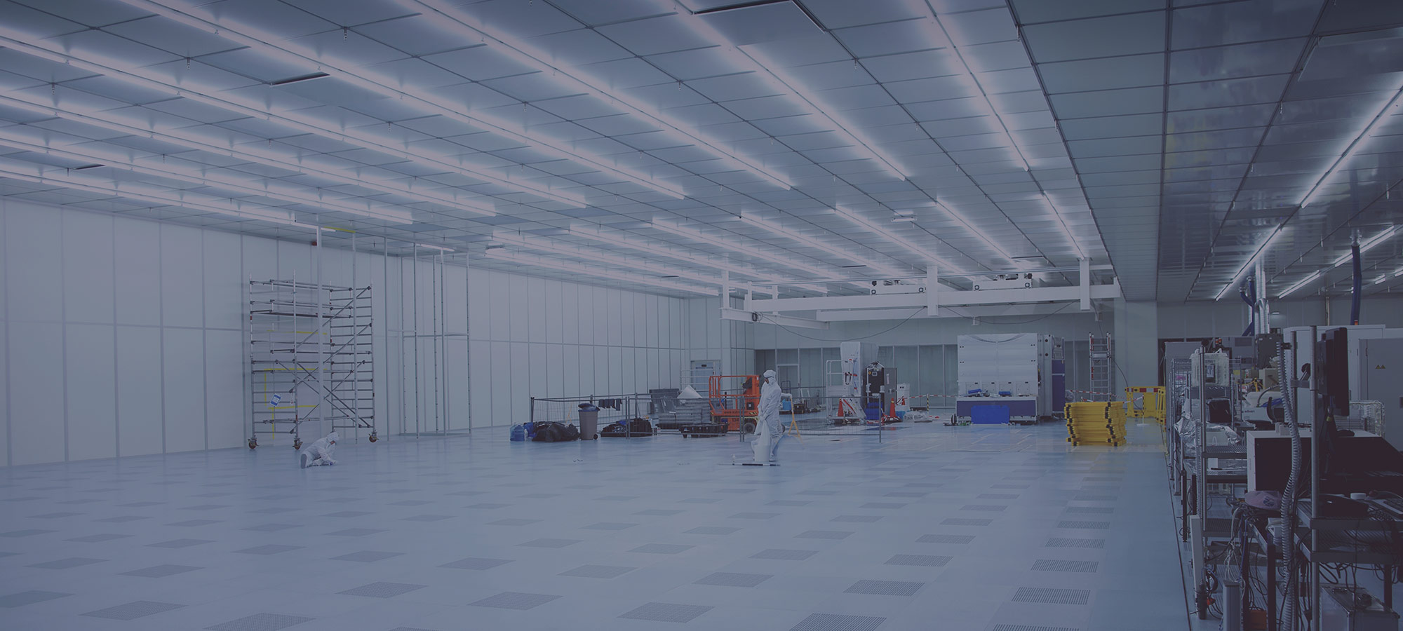 Large cleanroom installation