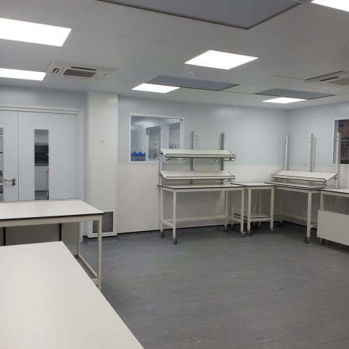 ISO 7 Cleanroom extension by Airology